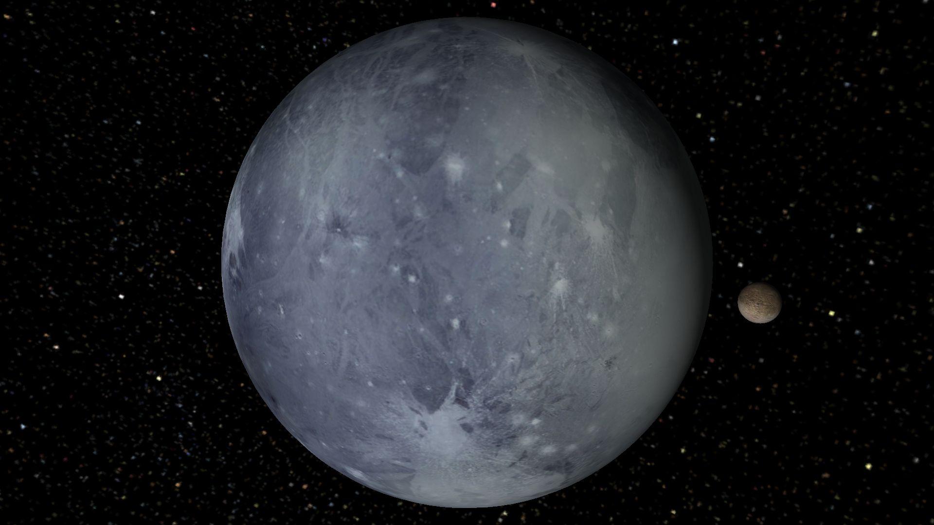 pluto planet size - photo #21